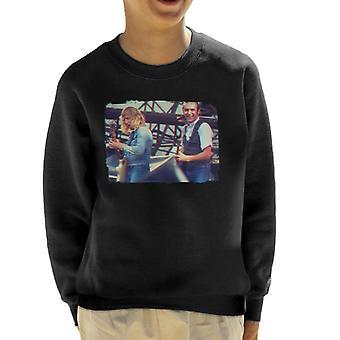 TV keer Status-Quo Live 3D Effect Kid's Sweatshirt