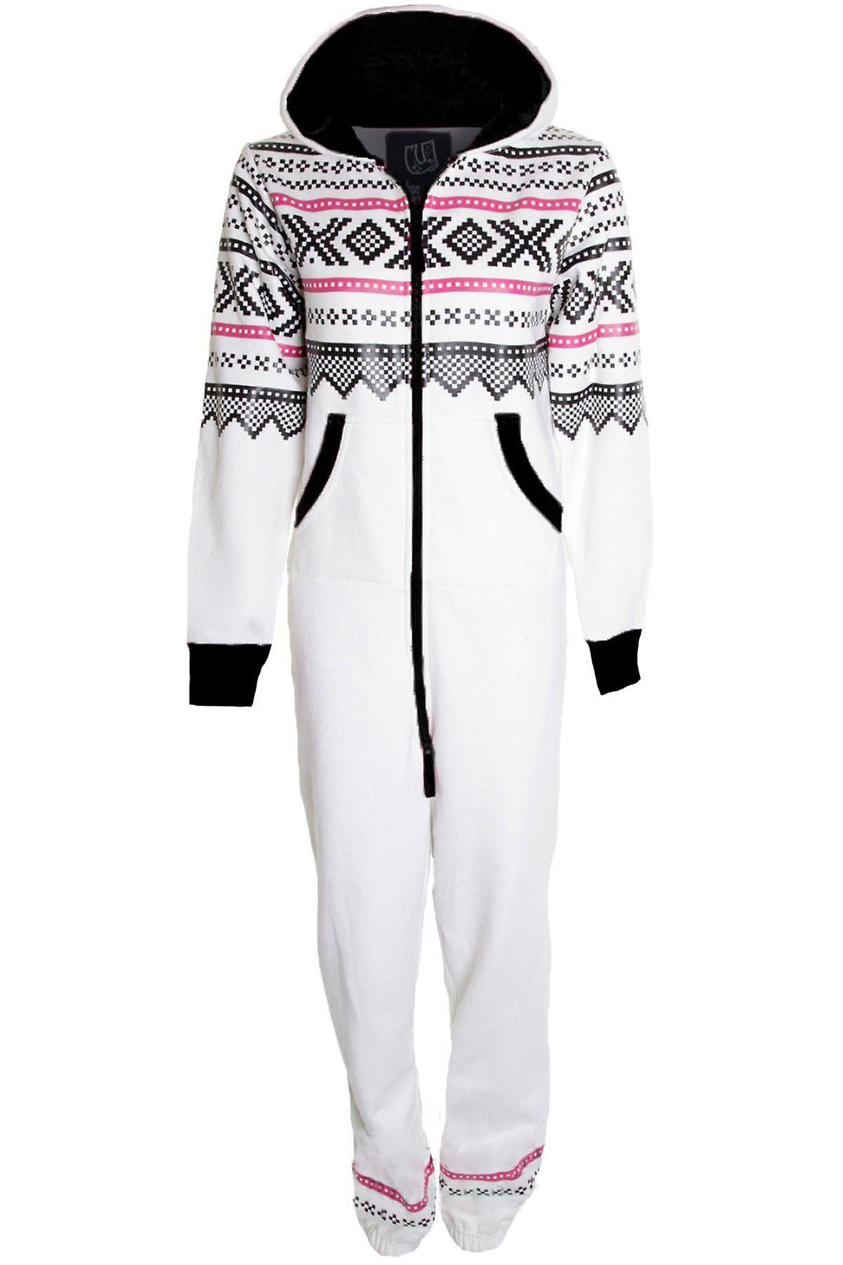 Hyvät Aztec Tulosta kaikki aikuisilla hupullinen Jumpsuit naisten Playsuit puku
