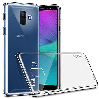 IMAK II Pro kova muovinen kuori Samsung-galaksille A6 (2018)
