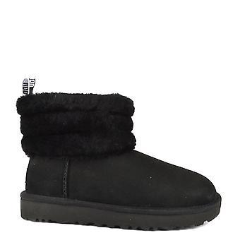 UGG Mini peluches matelassé Boot Logo noir