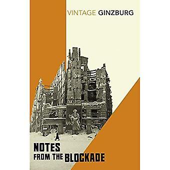Anteckningar från blockaden (Vintage klassiker)