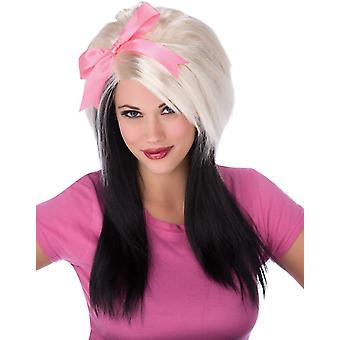 Scene Girl Bow Wig For Adults