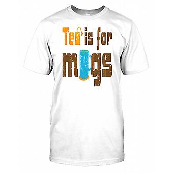 Tea Is For Mugs - Funny Kids T Shirt