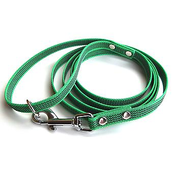 Super-Grip leash, green 15 mm wide