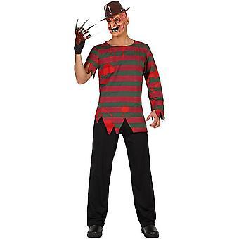 Herren Kostüme Freddy Krueger Halloween