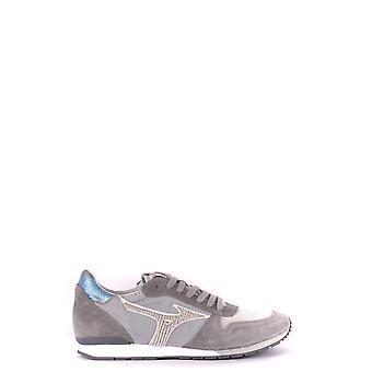 Mizuno Ezbc199005 Herren's Graue Wildleder Sneakers