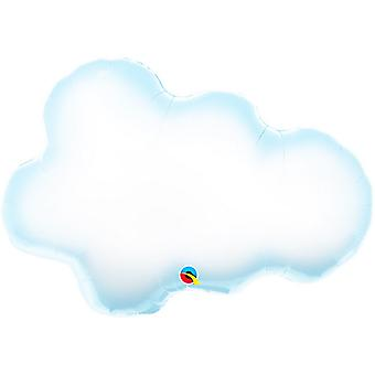 Qualatex 30in/77cm Supershape Puffy Cloud Foil Balloon