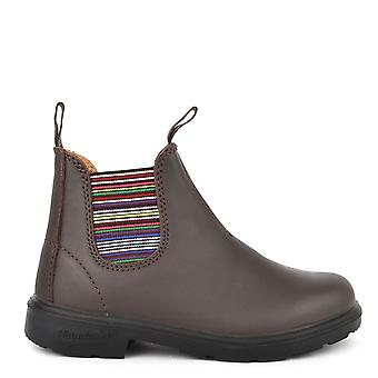 1413 noz couro listra Boot Blundstone infantis