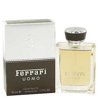Ferrari Uomo By Ferrari Eau De Toilette Spray 1.7 Oz (men) V728-467970