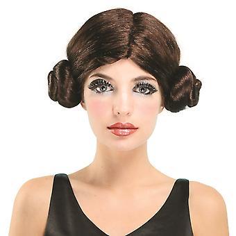 Bristol Novelty Unisex Adults Space Princess Wig