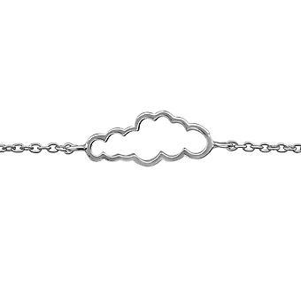 Cloud - 925 Sterling Silver Chain Bracelets - W39257X