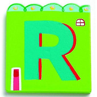 Djeco Letter Casita - R (Babies and Children , Toys , Others)