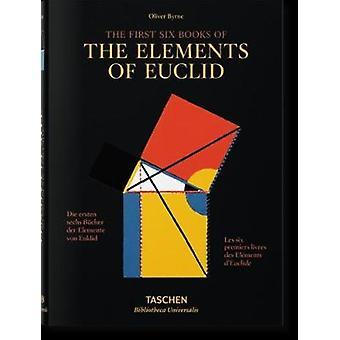 Byrne-sex böcker av Euklides av Werner Oechslin-9783836559386 bok