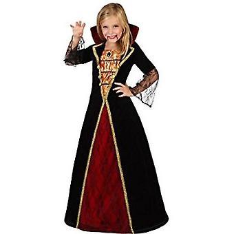Trajes de los niños traje de la muchacha de los niños vampiro