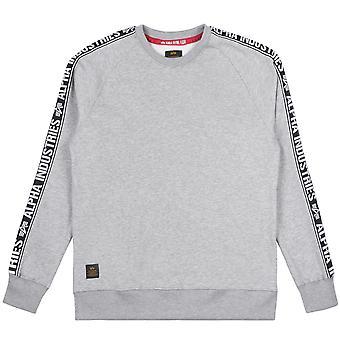 Alpha Industries Men's Sweatshirt AI Tape