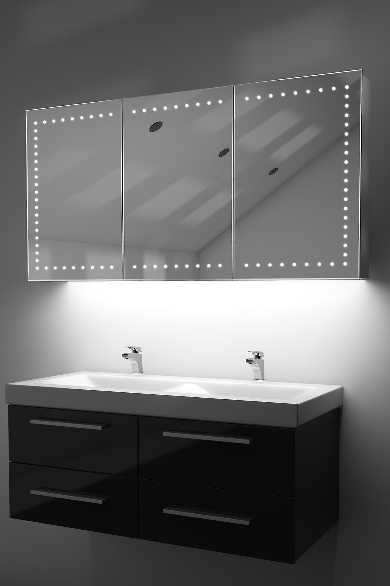 Demist Cabinet With RGB , Sensor & Internal Shaver k377rgb