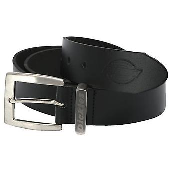 Dickies Mens Leather Practical Classic 6 Hole Belt