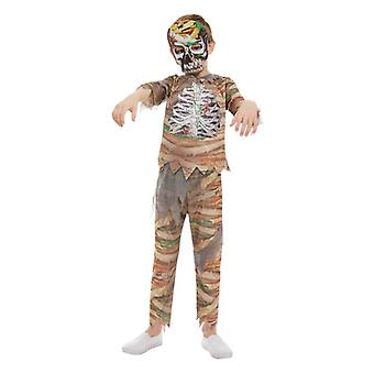 Pojat Halloween zombie äiti Fancy Dress puku
