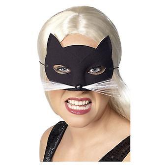 Womens kat Eyemask Fancy Dress accessoire