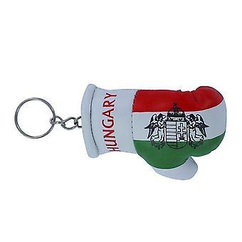 Porte Cle Cles Clefs Drapeau  Hongrie Hongrois  Gant De Boxe Flag  Keychain