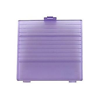 Replacement battery cover door for nintendo game boy dmg-01 - atomic purple