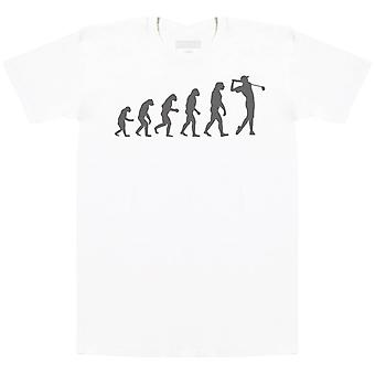 Evolution To A Golfer - Herren T-Shirt