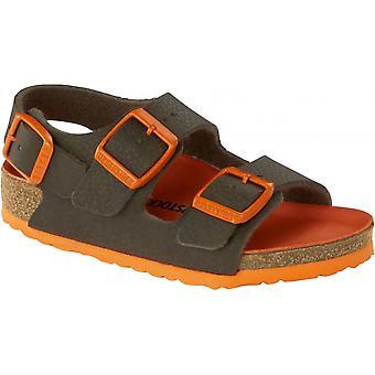 Birkenstock Kids Milano Sandal BF 1012591 ørken jord grønn