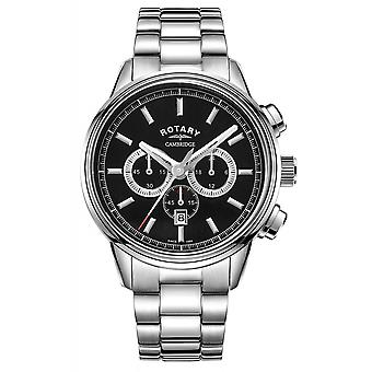 Rotary GB05395-04 Men's Cambridge Chronograph Wristwatch