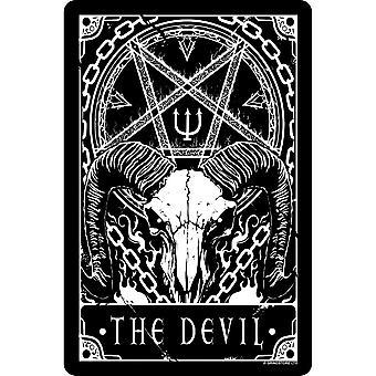 Deadly Tarot The Devil Tin Sign