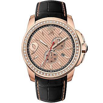 Jivago Men's Gliese Rose gold Dial Watch - JV1535