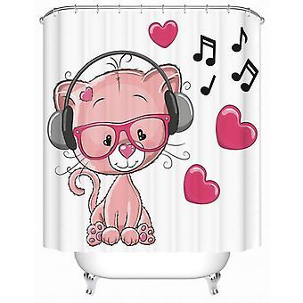 الموسيقى المحبة القط دش الستار