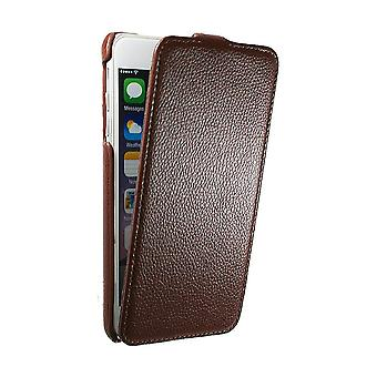 Ultraslim Case In Mock Leather Chocolate For IPhone 6 More