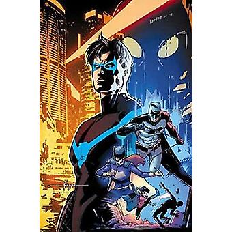 Nightwing The Rebirth Deluxe Edition Book 1 by Tim Seeley
