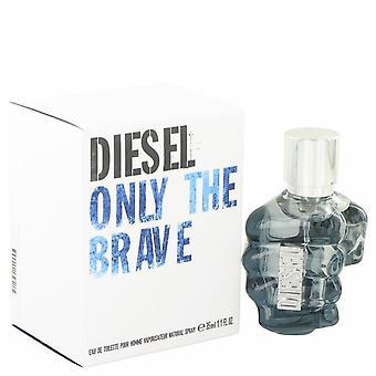 Only the brave eau de toilette spray by diesel 481887 33 ml