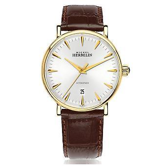 Michel Herbelin 1647-P11MA Men's Inspiration Automatic Wristwatch