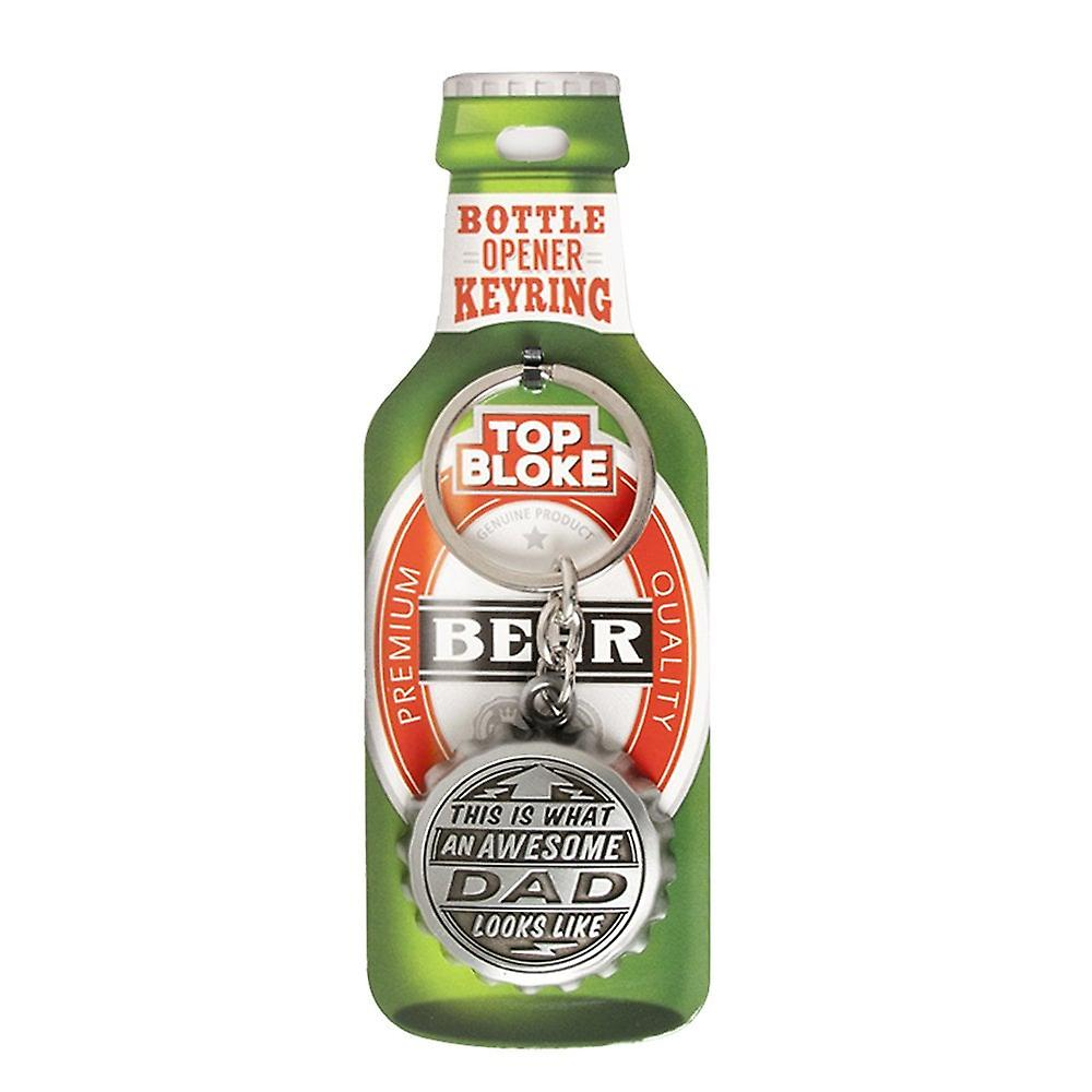 History & Heraldry Keyring - Dad Bottle Opener