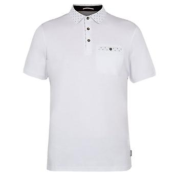 Ted Baker Mens Short Sleeved Cotton Polo Shirt