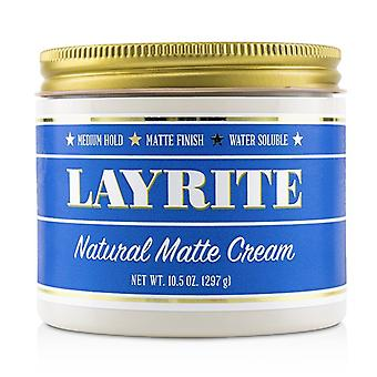 Layrite Natural Matte Cream (Medium Hold, Matte Finish, Water Soluble) 297g/10.5oz
