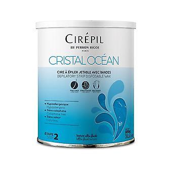 Perron Rigot Cirepil Wax With Strips - Cristal Ocean