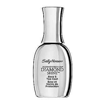Sally Hansen Diamond Shine Base und Top Coat Superior Wear Strength 13ml Clear