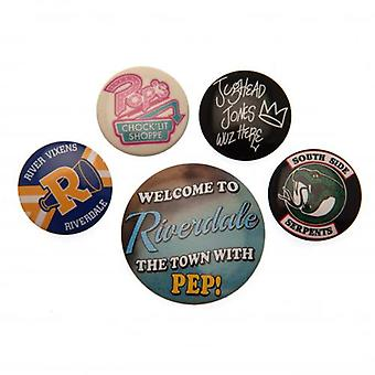 Riverdale Button Abzeichen Set
