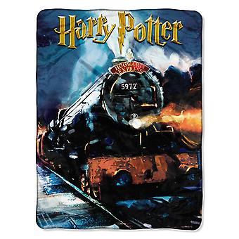 Micro Raschel Throws - Harry Potter - To Hogwarts 45x60