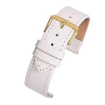 レザー時計ストラップ ホワイトステッチエコノミーコレクション