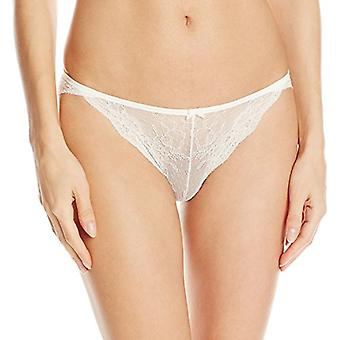 Maidenform Women's All Over Lace Tanga, Ivory, 6, Ivory, Size 6.0
