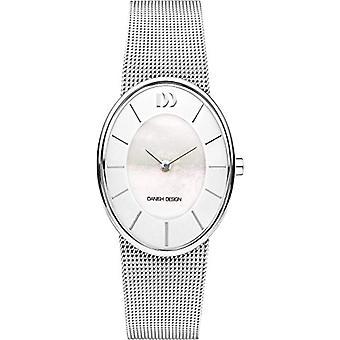 Danish Designs DZ120556-women's wrist watch stainless steel, color: Silver