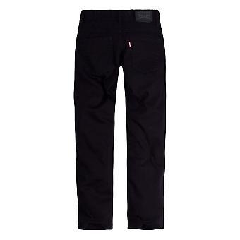 Levi's Big Boy's 502 Regular Taper Jeans Pants, black, 16