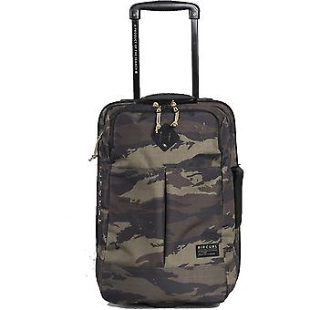 Rip Curl F-Light Cabin Camo Wheeled Luggage in Khaki