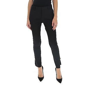 Versace A85701a220957a1008 Women's Black Viscose Pants