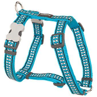 Red Dingo Reflective petral Turquoise (Dogs , Collars, Leads and Harnesses , Harnesses)