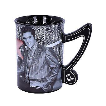 Elvis Presley Cadillac 16oz Coffee Mug